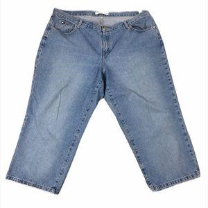 Tommy Hilfiger Cropped Denim Capri Jeans Size 20